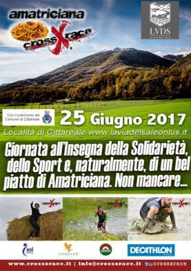 Amatriciana crossxrace 25 giugno 2017