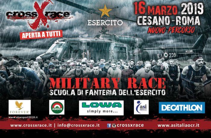 MILITARY crossXrace – Sabato 16 Marzo 2019 Cesano