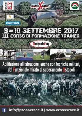 III Corso Formazione Trainer ObstacleFun 9-10 Settembre 2017