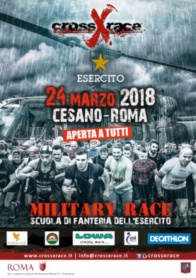 MILITARY RACE Sabato 24 Marzo 2018 Cesano