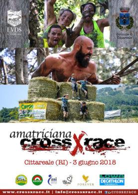 Amatriciana crossXrace 3 Giugno 2018