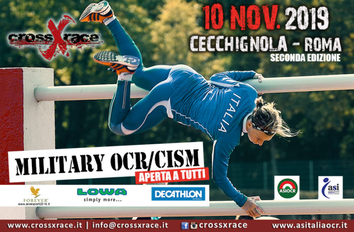 11/19 Military crossXrace OCR/CISM Roma